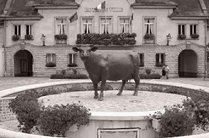 vimoutiers-vache de bronze-photo michel ducruet-2010